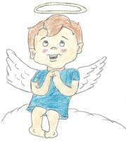 the littlest angel by darkc3po