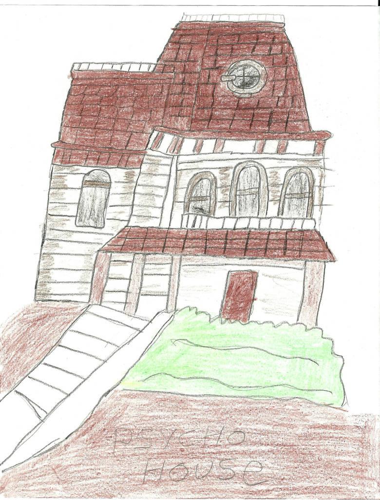 psycho house by darkc3po