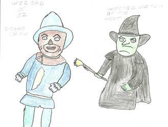 the wizard of oz by darkc3po