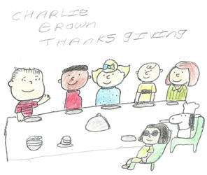 charlie brown thanksgiving by darkc3po