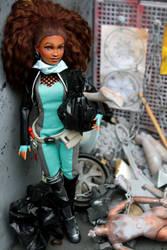 Custom doll, OC Bonnie Biggs, Barbie/Desc hybrid by cimmerianwillow