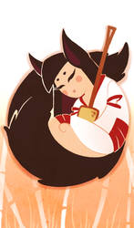 Kitsune by ValDeCreez