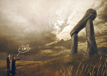 Transcendental Dolmen by ViaEstelar