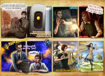 Favorite Game Characters by ViaEstelar