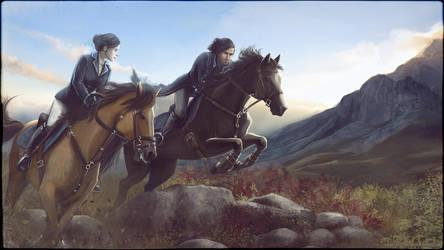 Horse-Riding by ViaEstelar