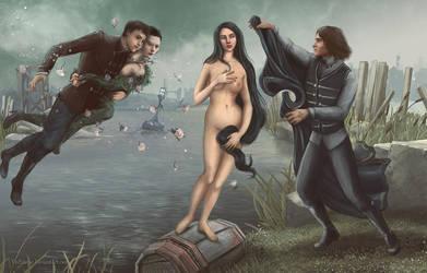 Venus of Gristol by ViaEstelar