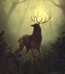 Deep Forest by ViaEstelar