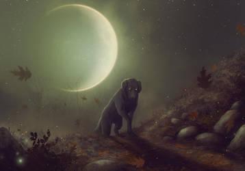 Under a waxing moon by ViaEstelar