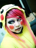 Rabid Pikachu by RavingPanties