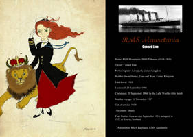 RMS Mauretania by Otulissa3