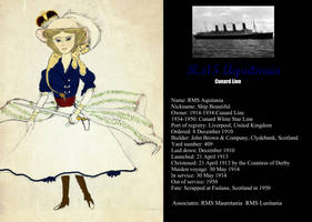 RMS Aquitania by Otulissa3