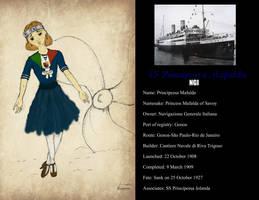 SS Principessa Mafalda by Otulissa3