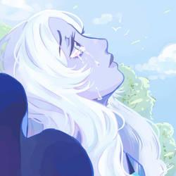 Blue Diamond - Steven Universe by melancholicluna