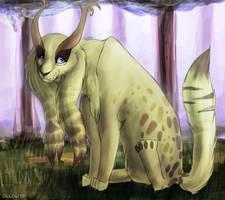 Elf Lynx by OrcaOwl
