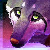 Flarveon Wolf 1 by OrcaOwl