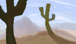 Cactus by OrcaOwl