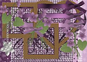 Sweet Violet Scrapkit by Bluebirdofhappiness