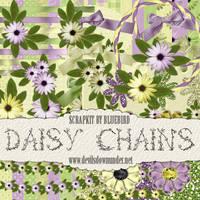 Daisy Chains Scrapkit by Bluebirdofhappiness