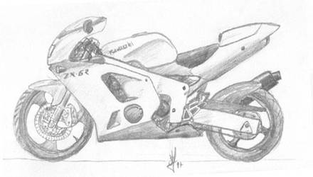 Kawasaki ZXR 97 by Rodblast