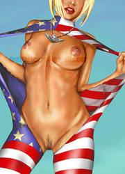American BodySuit by Mattheartcore