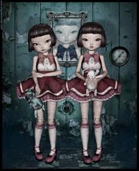 Toy Triplets by lilnymph