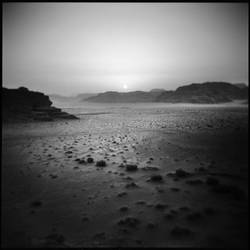 Sunset over wadi rum by kosmobil