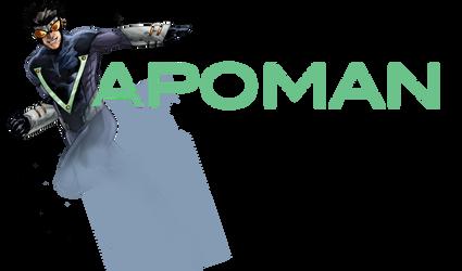 Vapoman Logo V1 by AenTheArtist