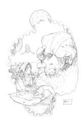 Steampunk Aladdin by AenTheArtist