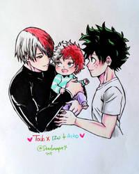 Tododeku Family by deadvampire32