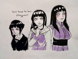 Hinata Week Day 2 Through The Years by deadvampire32