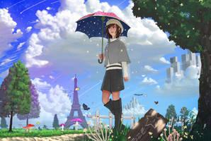 Magical Star Park by Tsukinopandaaa