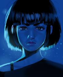 Blue by Tsukinopandaaa