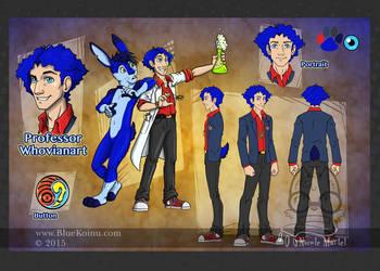 The Professor by bluekoinu