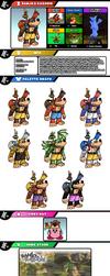 Newcomer Banjo and Kazooie by evilwaluigi