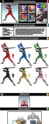 Newcomer Red Ranger by evilwaluigi