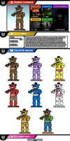 Newcomer Freddy Fazbear by evilwaluigi