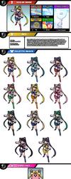 Newcomer Sailor Moon by evilwaluigi