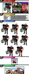 Newcomer Heavy by evilwaluigi
