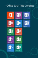 Office 2013 Tiles for StartScreen Concept by wifun2012