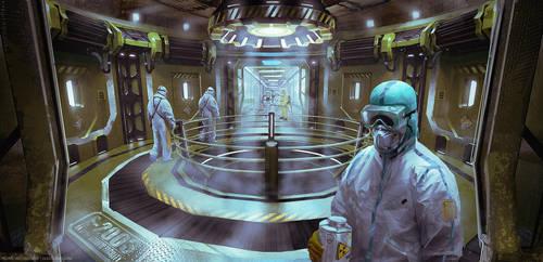 Biohazard Laboratory by Dlestudio