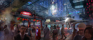 Future Tokyo Square by Dlestudio