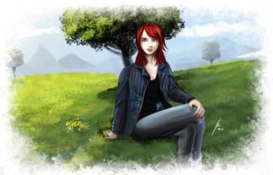 My girlfriend by Bohlen