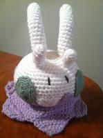 Goomy Crochet Plush Pattern by Ookamichan423