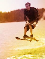 Waterskiiiing by Myssynen