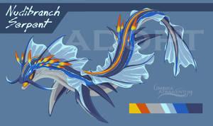 Nudibranch Dragon Adopt [CLOSED] by UmbraAtramentum