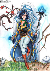 Melina ~ Maintain the balance by Mitsurugi-Reiji-chan
