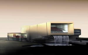 Art Museum Render 2 by rednotdead