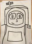 Team Crystal - Spacewoman by JennyRichardBlakina