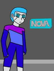 NOVA (AU Anime Style - Remake) by JennyRichardBlakina