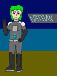 Nathan (AU Anime Style - Remake) by JennyRichardBlakina